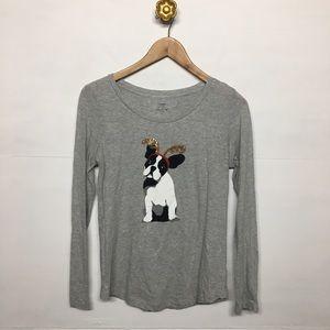 Crown & Ivy Christmas T-shirt